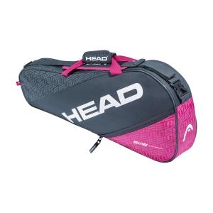 Tennis Bag Head Elite x 3 Pro Bag  Anthracite/Pink 283560 ANPK