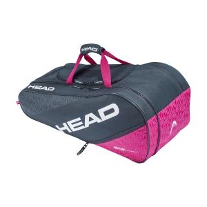 Tennis Bag Head Elite x 8 All Court Bag  Anthracite/Pink 283520 ANPK