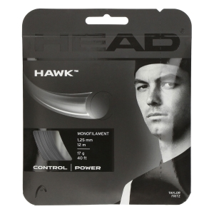 Monofilament String Head Hawk 1.25 Set 12 m  Black 281103 17BK