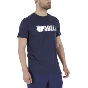 Men's Tennis Shirts Head Padel Vision TShirt  Dark Blue 811501DB