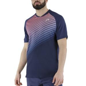 Men's Tennis Shirts Head Performance TShirt  Print Performance/Red 811361XPRD