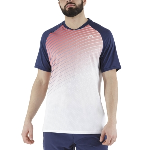 Men's Tennis Shirts Head Performance TShirt  Red/Print Performance 811361RDXP