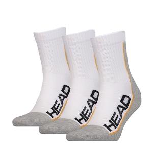 Calcetines de Tenis Head Performance X 3 Calcetines  White/Grey 811904WHG
