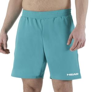 Men's Tennis Shorts Head Power 6in Shorts  Turquoise 811461TQ