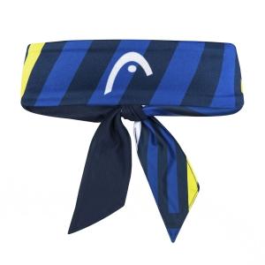 Tennis Headbands Head Pro Headband  Dark Blue/Print Vision 817120DBXW