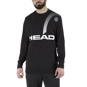 Men's Tennis Shirts and Hoodies Head Rally Sweatshirt  Black 811321BK