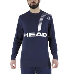 Men's Tennis Shirts and Hoodies Head Rally Sweatshirt  Dark Blue 811321DB