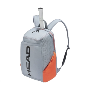 Tennis Bag Head Rebel Backpack  Grey/Orange 283531 GROR
