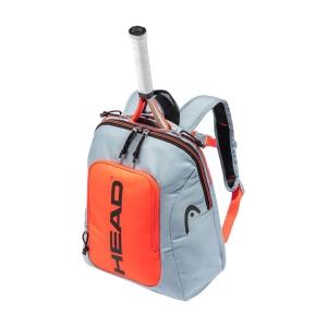 Junior Tennis Bag Head Rebel Backpack Boy  Grey/Orange 283491 GROR