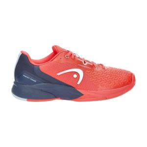 Men`s Tennis Shoes Head Revolt Pro 3.5  Neon Red/Dark Blue 273101 NRDB