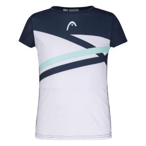 Top y Camisetas Niña Head Sammy Logo Camiseta Nina  Print Performance/Mint 816241XRMI