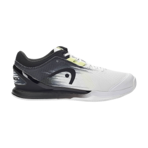 Calzado Tenis Hombre Head Sprint Pro 3.0 Clay  White/Raven 273031 WHRV