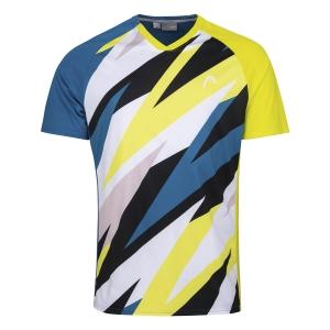 Polo e Maglie Tennis Head Striker Maglietta Bambino  Blue/Print Vision 816201BLXV