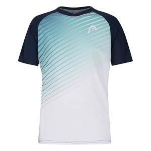Polo e Maglie Tennis Head Striker Maglietta Bambino  Turquoise/Print Performance 816201TQXP