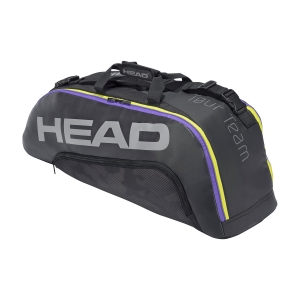 Bolsa Tenis Head Tour Team x 6 Combi Bolsa  Black/Mixed 283181 BKMX