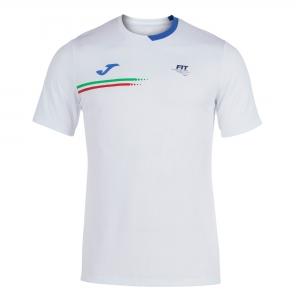 Polo y Camisetas de Tenis Joma FIT Logo Camiseta Nino  White FIT101809207