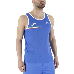 Camisetas de Tenis Hombre Joma FIT Top  Blue FIT102244702