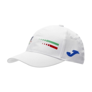 Tennis Hats and Visors Joma FIT Cap  White FIT400089200