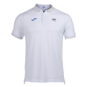 Tennis Polo and Shirts Joma FIT Classic Polo Boy  White FIT100748200