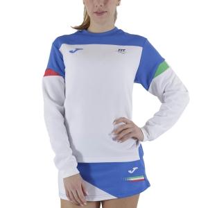 Camisetas y Sudaderas Mujer Joma FIT Sudadera  White FIT901269207