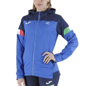 Chaquetas de Tenis Mujer Joma Fit Chaqueta  Blue FIT901271703