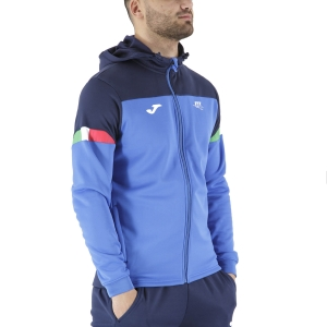 Men's Tennis Shirts and Hoodies Joma FIT Hoodie  Blue FIT101838703