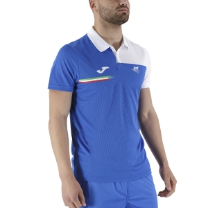 Polo Tenis Hombre Joma FIT Italy Polo  Blue FIT101810702