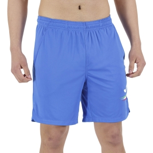 Pantalones Cortos Tenis Hombre Joma FIT Tennis Italy 7in Shorts  Blue FIT102054700