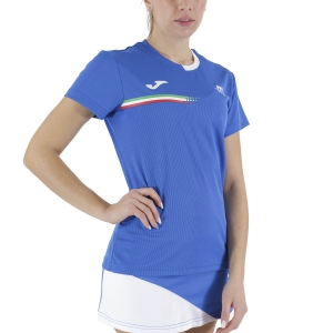 Women`s Tennis T-Shirts and Polos Joma FIT TShirt  Blue FIT901405702