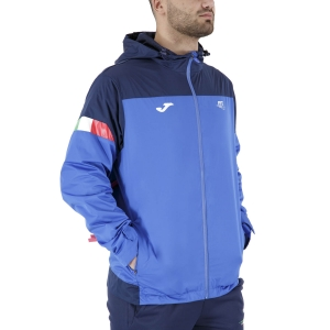 Men's Tennis Jackets Joma FIT Italy Jacket  Blue FIT101841703
