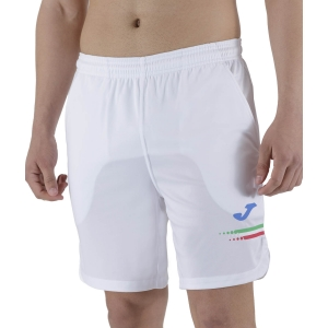 Pantalones Cortos Tenis Hombre Joma FIT Tennis Italy 7in Shorts  White FIT102054200