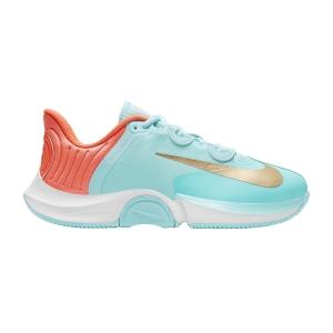 Calzado Tenis Mujer Nike Air Zoom GP Turbo HC  Copa/Metallic Gold/Bright Mango/White CK7580400