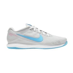 Men`s Tennis Shoes Nike Court Air Zoom Vapor Pro HC  Photon Dust/Chlorine Blue/Grey Fog CZ0220008