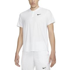 Nike Breathe Advantage Polo - White/Black