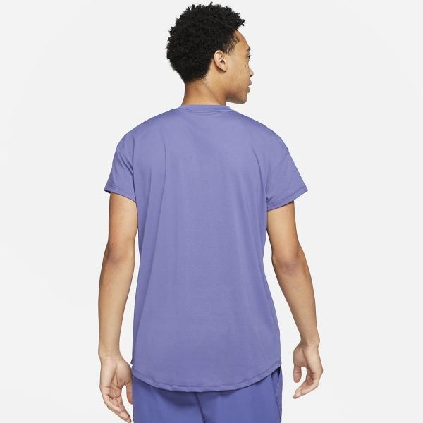 Nike Breathe Slam T-Shirt - Dark Purple Dust/White