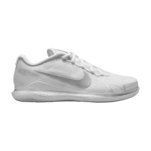 Calzado Tenis Mujer Nike Court Air Zoom Vapor Pro HC  White/Metallic Silver CZ0222108