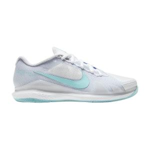 Calzado Tenis Mujer Nike Court Air Zoom Vapor Pro HC  White/Copa/Purple Pulse CZ0222124