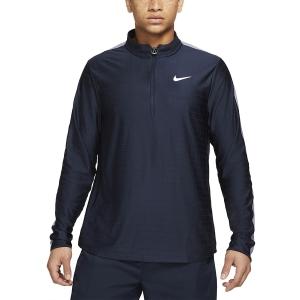 Men's Tennis Shirts and Hoodies Nike Court Breathe Advantage Shirt  Obsidian/Indigo/Haze White CV2866451