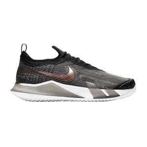 Calzado Tenis Mujer Nike React Vapor NXT HC  Black/White/Metallic Red Bronze CV0742002