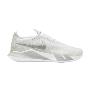 Calzado Tenis Mujer Nike React Vapor NXT HC  White/Metallic Silver/Grey Fog CV0742100