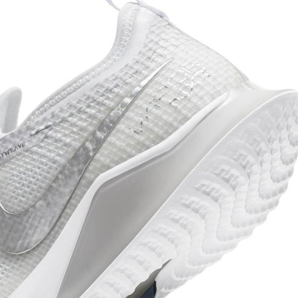 Nike React Vapor NXT HC - White/Metallic Silver/Grey Fog