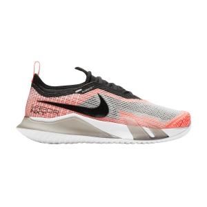 Calzado Tenis Mujer Nike React Vapor NXT HC  White/Black/Bright Mango/Volt CV0742101