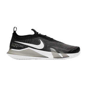 Scarpe Tennis Uomo Nike React Vapor NXT HC  Black/White CV0724002