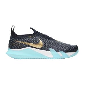 Calzado Tenis Hombre Nike React Vapor NXT HC  Dark Obsidian/Metallic Gold CV0724400