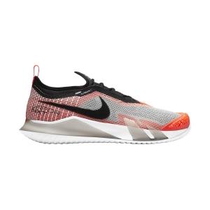 Men`s Tennis Shoes Nike React Vapor NXT HC  White/Black/Hyper Crimson/Volt CV0724100