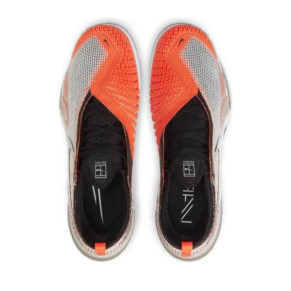 Nike React Vapor NXT HC - White/Black/Hyper Crimson/Volt