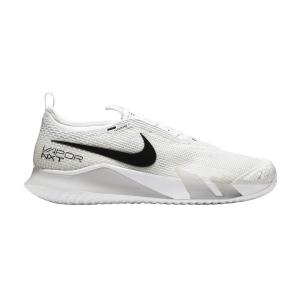 Men`s Tennis Shoes Nike React Vapor NXT HC  White/Black/Grey Fog CV0724101
