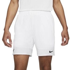 Men's Tennis Shorts Nike Court DriFIT ADV Rafa 7in Shorts  White/Black CV7873100