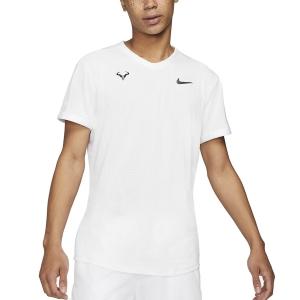 Men's Tennis Shirts Nike DriFIT ADV Rafa TShirt  White/Black CV2802100