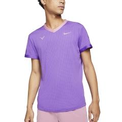 Nike Dri-FIT ADV Rafa Maglietta - Wild Berry/Elemental Pink